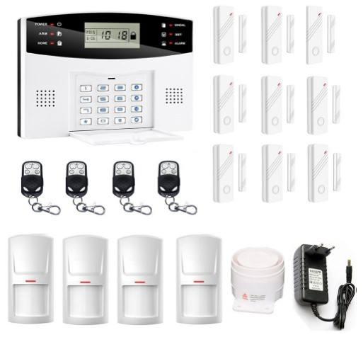 Alarme maison sans fil pas cher Kerui 8218G