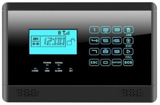 alarme de maison sans fil Bullnet Systems Alarme test