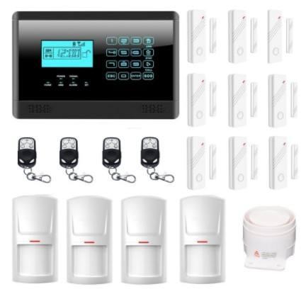 alarme de maison sans fil Bullnet Systems Alarme